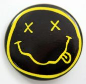 Nirvana - 'Smiley' 32mm Badge